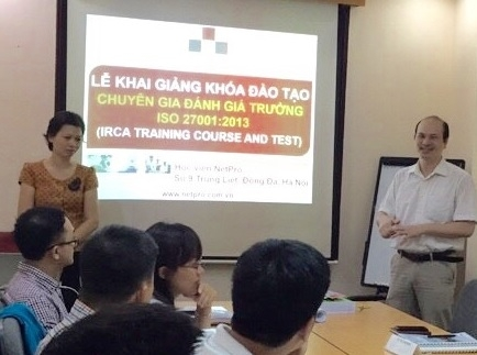Khai giảng lớp Lead Auditor 27001:2013